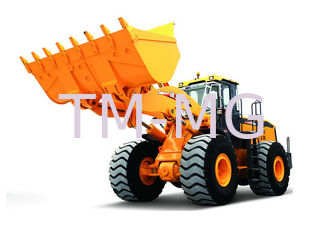 LW1000KN Wheel Loader Earthmoving Machinery , Dual pump Combined Technology