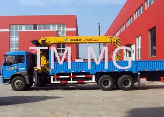Comfortable 10 Tons Cargo Knuckle Boom Crane Equip With Disc Brake